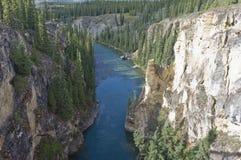 Ravin de rivière de Lapie Photo stock