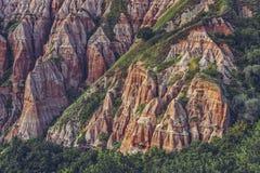Ravina vermelha, Sebes, Romênia Imagens de Stock