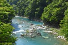 Ravine  Dakikaeri in Akita. Touhoku,  Japan Royalty Free Stock Images