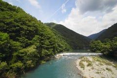 Ravine  Dakikaeri in Akita Stock Images