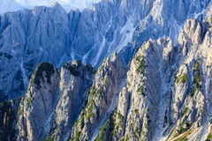 Ravine in dolomites mountain Royalty Free Stock Photography
