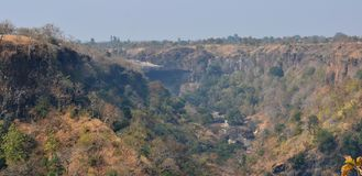 Ravine/Gorge in Central India and Malwa Stock Images