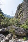 Ravine. This photo was taken in the Jingming  scenery area, Yandang Mountain,Zhejiang province,china Royalty Free Stock Photos