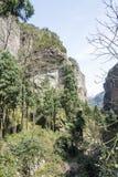 Ravine. This photo was taken in the Jingming  scenery area, Yandang Mountain,Zhejiang province,china Stock Image