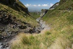 Ravine on slopes of Mount Taranaki Royalty Free Stock Photography