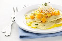 ravioli γευμάτων Στοκ Εικόνα