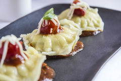 Ravioli τροφίμων Στοκ Εικόνες