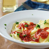 Ravioli closeup Stock Photos