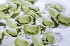 Ravioli da massa Foto de Stock Royalty Free