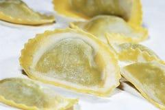 Ravioli della pasta Fotografia Stock