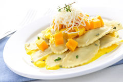Ravioli Dinner Royalty Free Stock Photos