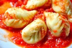 Ravioli, dumplings. Italian pasta  Royalty Free Stock Photography