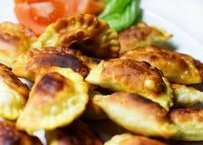 Ravioli fritado. Fotografia de Stock
