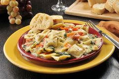 Ravioli gastronomes de homard Photo stock