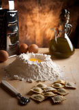 Ravioli Homemade pasta Royalty Free Stock Images