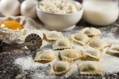 Ravioli italiani Fotografie Stock