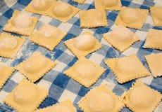 Ravioli, italienische Nahrung Lizenzfreie Stockfotos