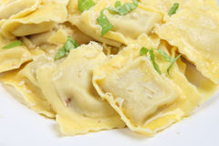 Ravioli Pasta Stock Photography