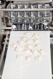 Ravioli Pasta On Automated Machine Stock Photos