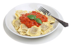 Ravioli Pasta Dish Stock Photography