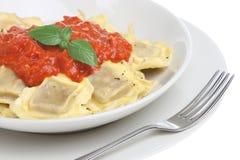 Ravioli Pasta Dish Stock Photo