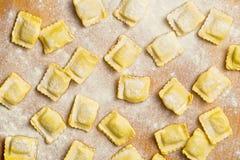 Ravioli pasta Stock Photos