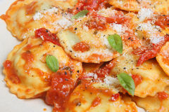 Ravioli Pasta Meal Stock Images