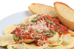 Ravioli Pasta Meal Royalty Free Stock Photo