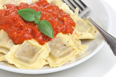 Ravioli Pasta Meal Royalty Free Stock Image