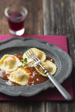 Ravioli pasta Stock Photos