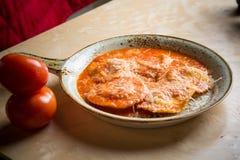 Ravioli in sauce Stock Photography