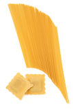 Ravioli and Spaghetti Pasta Royalty Free Stock Photo
