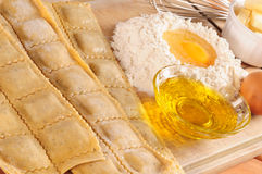 Raviolis. Royalty Free Stock Photography