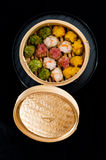 Raviolis chinos Imágenes de archivo libres de regalías