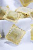 Raviolis de las pastas Fotografía de archivo