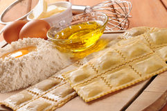 Raviolis. Series, see more... Stock Image