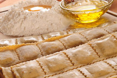 Raviolis. Series, see more... Stock Photography