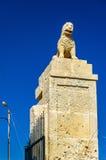 Ravissez la porte de San Fernando Castle dans Alicante, Espagne Image stock