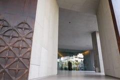 Ravissez la porte du musée de MOCA, divers arts thaïlandais d'objets exposés, le 10 janvier 2016 Images stock