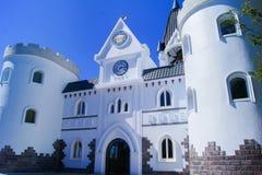 Ravissez le château de la ferme de QingJing, Nantou Images libres de droits