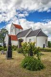 Ravlunda church Stock Image