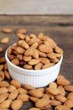 Raw Almond Stock Photo