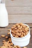 Raw Almond Royalty Free Stock Photo