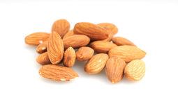 Raw almonds Stock Photos