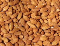 Raw almonds Royalty Free Stock Photos