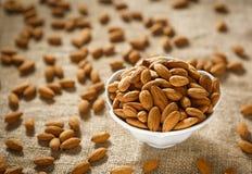 Raw Almonds Stock Photos