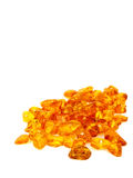 Raw amber Royalty Free Stock Photos