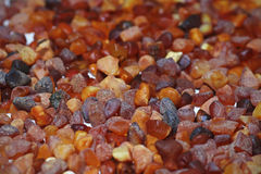 Raw amber background Royalty Free Stock Photo