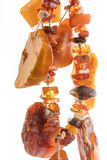 The raw amber from coast of the Baltic sea Royalty Free Stock Image