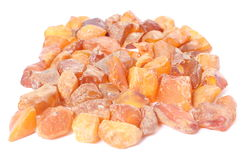 Raw amber from coast of Baltic sea Royalty Free Stock Photography